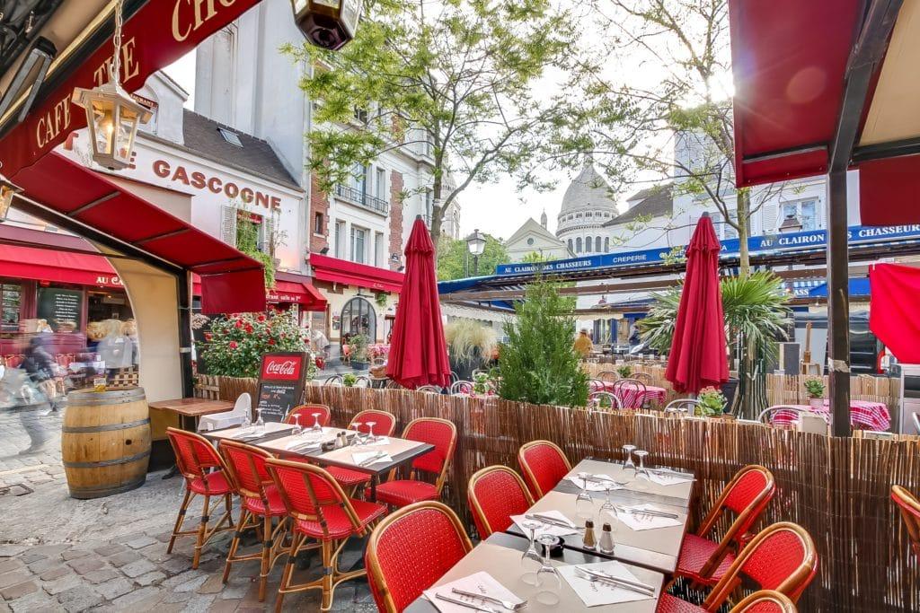 Terrasse RESTAURANT AU CADET DE GASCOGNE PARIS MONTMARTRE
